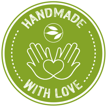 Dieses Logo bedeutet, das die Produkte von TeeDesign mit Liebe und in Handarbeit hergestellt werden.