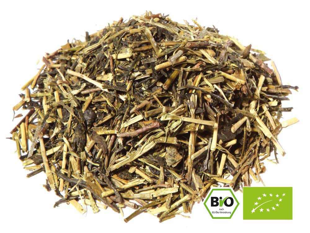 Grüner Tee aus dem Anbaugebiet Japan. JAPAN KUKICHA BIO
